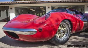 Shelby Lone Star Cobra 3 restored rear engine prototype car
