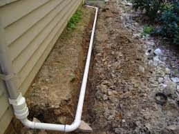 installing a downspout drain