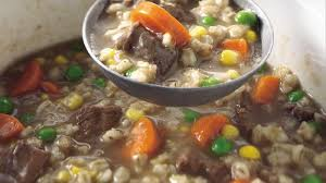clic slow cooker beef and barley soup