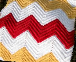 Chevron Afghan Pattern Crochet