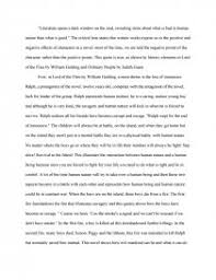 lord of the flies critical lens essay similar essays