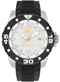 men s caterpillar dp sport evo black rubber strap watch pt14121232