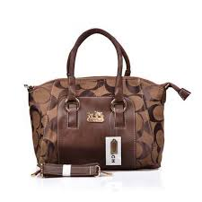 Coach Madison Signature Medium Coffee Totes DPD