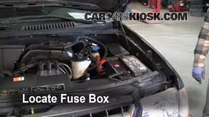 replace a fuse 2002 2005 ford explorer 2002 ford explorer xlt 4 0l v6 ford explorer 2002 fuse box access replace a fuse 2002 2005 ford explorer