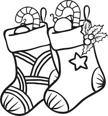 Small Picture FREE Printable Christmas Stockings Coloring Page for Kids 1