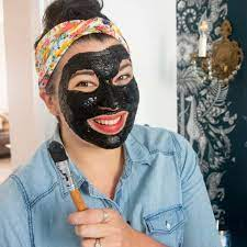 diy l off face mask with activated