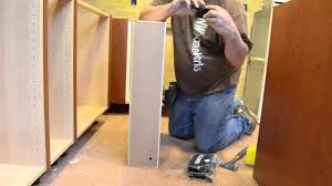 6 Inch Kitchen Cabinet Ikea Hack How To Make A 6 Ikea Cabinet With Door Youtube