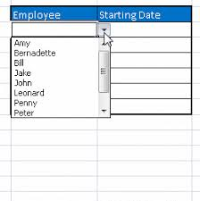 Ms Excel How To Work With Drop Down Lists In Ms Excel Master Data Analysis