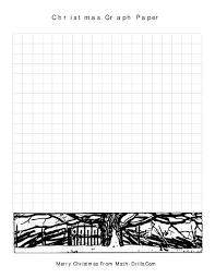 Various Geometry Worksheets Math Christmas High School Graph Paper