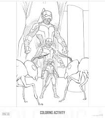 Small Picture Ant Man Pictures To Colour Coloring Coloring Pages