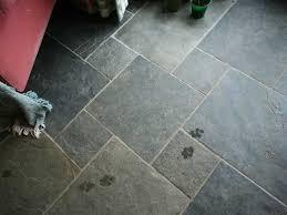 image of slate flooring tiles