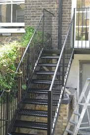 outdoor staircase make a photo gallery exterior metal stairs