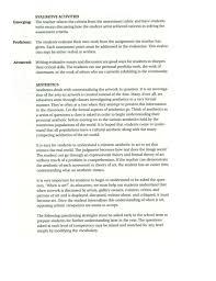 portfolio essay example com  portfolio essay example 18 artist art