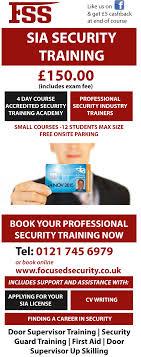 door supervisor training door supervisor training or security guard training