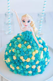 Elsa Cake Easy Diy Birthday Cake Tutorial My Kids Lick The Bowl