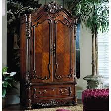 armoire furniture antique. pulaski edwardian antique wood tv armoire furniture