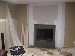remodeled brick fireplace
