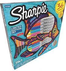 Amazoncom Sharpie Markers Limited Edition Set Color Assortment