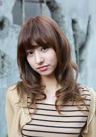 Asian curly hair styles
