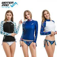 Water Pro Printed Rash Guard Women