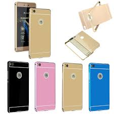huawei p8 gold price. luxury anti-scratch back cover aluminum metal bumper frame +pc case for 5.0 inch huawei p8 lite gold price t