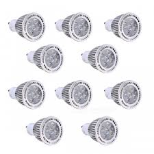 10pcs YWXLight GU10 5W 5-<b>SMD 3030 LED</b> Spotlights Warm White ...