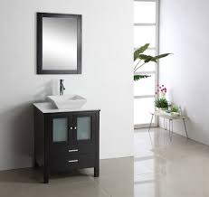 Bathroom Single Vanity White Single Sink Bathroom Vanities Home Design Jobs