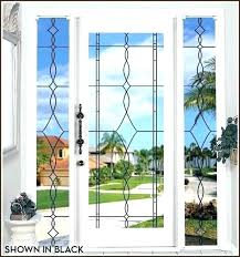 sidelight privacy sidelight window sidelight window home depot allure leaded glass see through