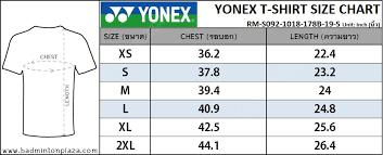 Apparels Yonex Tops Yonex Training T Shirt Dark Gray