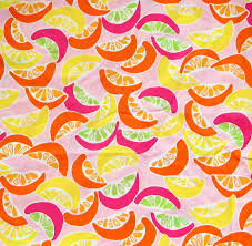 Lilly Pulitzer Fabric Authentic New Lilly Pulitzer Fabric Lilly Pink Squeeze Me 18 X 22
