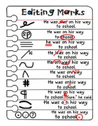 Proofreading Symbols Chart Editing And Proofreading Symbols Worksheet Diigo Groups