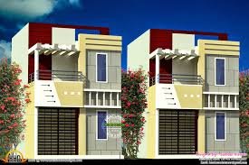 Home Outside Design India 30x60 House Plan India Keralahousedesigns Row House