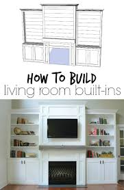 Premade Built In Bookcases Living Room Built Ins Tutorial Cost Decor And The Dog