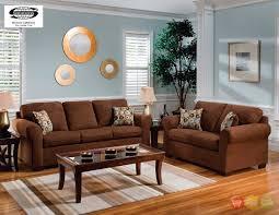 Microfiber Living Room Furniture Sets Brown Living Room Furniture Sets Educartinfo For