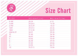Size Chart Ricrac Ruffles