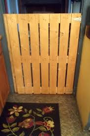 wooden indoor gate f baby