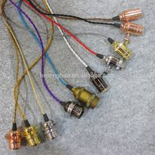 diy cable lighting. Fabric Lighting Cable Electrical Wire For DIY Hanging Lamp Diy