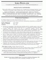 Free Medical Assistant Resume Templates Best of Hospital Administration Sample Resume Free Letter Templates Online
