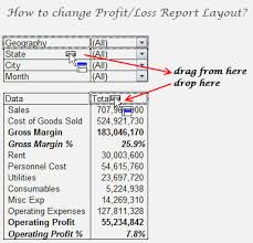 Excel Profit And Loss Template Simple Exploring Profit Loss Reports [Part 48 Of 48] Chandooorg Learn