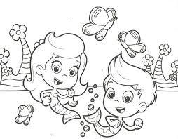 Small Picture bubble guppies coloring pages