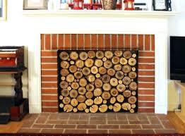 diy fireplace screen fireplace diy barn door fireplace screen