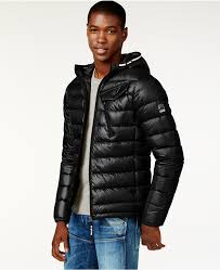 g star gstar quilted hooded puffer jacket a macys style