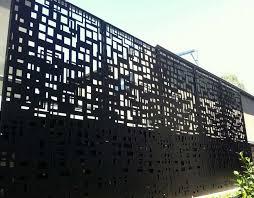 Aluminum Privacy Fence Panels Furniture Design Ideas Aluminum