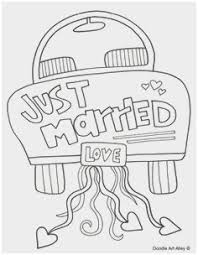 Free Wedding Coloring Pages To Print Best Of Wedding Just Married