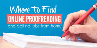 Executive Editor Job Description New Where To Find Online Proofreading And Editing Jobs
