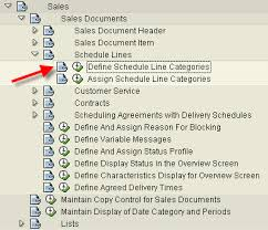 Sales Lines Sap123 Configuration Of Sales Document Schedule Lines