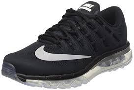 nike running shoes 2016 black. nike men s air max 2016 running shoe black/white/dark grey 10 d shoes black o