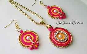 Quilling Chain Designs Quilling Jewelry Set Quilling Jewelry Paper Quilling