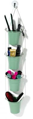 hanging ikea fintorp utensil storing a hair straightener beauty s makeup brushes and