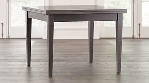 pratico grigio extension square dining table